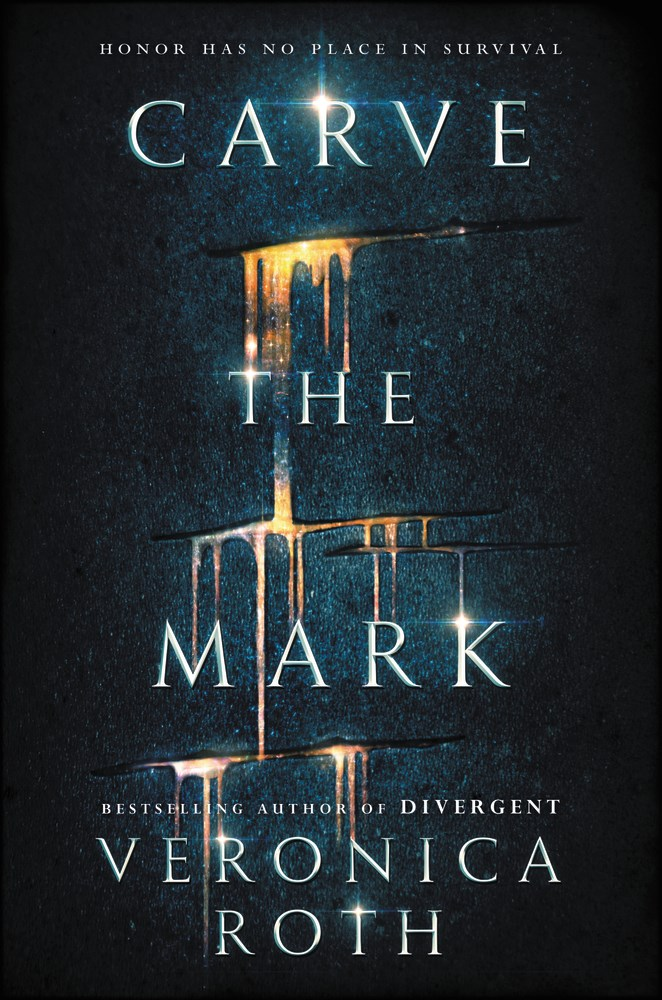 Carve the Mark by Veronica Roth - The Official Harper Winter 2017 Cover Reveal List via Epic Reads