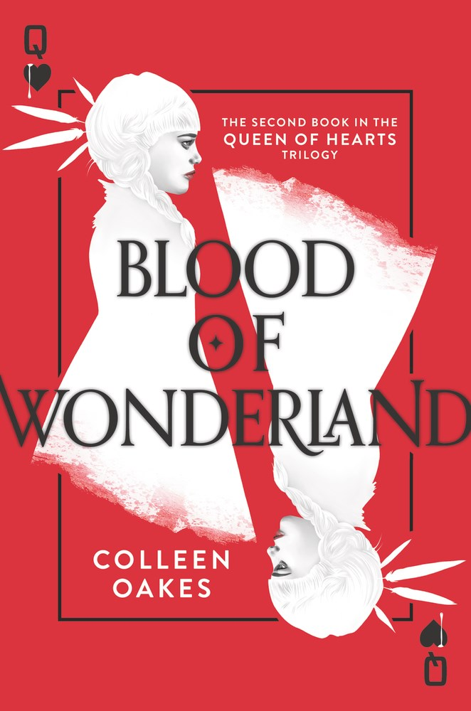 Blood of Wonderland by Colleen Oakes - The Official Harper Winter 2017 Cover Reveal List via Epic Reads
