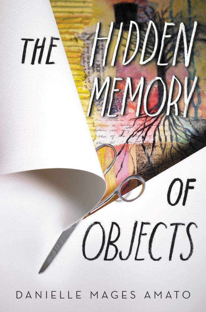 The Hidden Memory of Objects by Danielle Mages Amato - The Official Harper Winter 2017 Cover Reveal List via Epic Reads