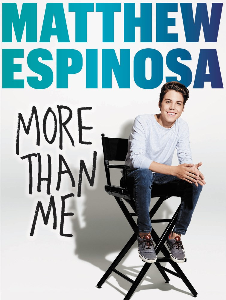 MATTHEW ESPINOSA: MORE THAN ME by Mattew Espinosa - on sale April 4, 2017