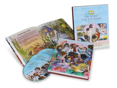The Story for Children, a Storybook Bible Deluxe Edition by Max Lucado, Randy Frazee, Karen Davis Hill
