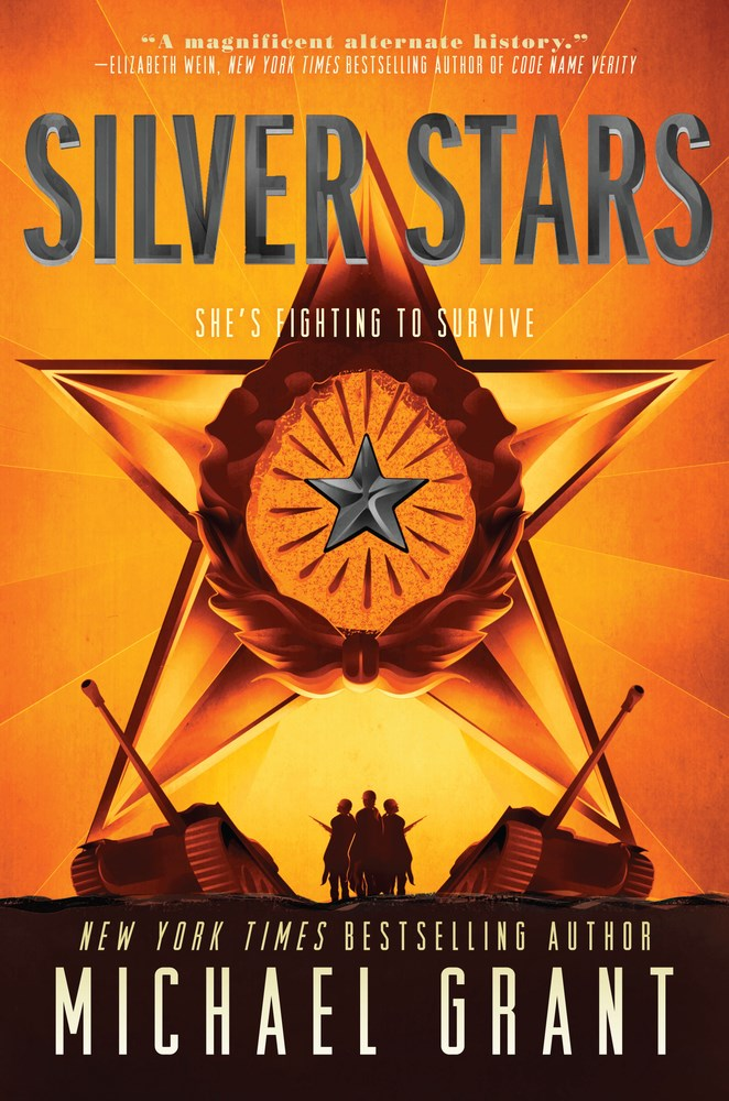 Silver Stars by Michael Grant - The Official Harper Winter 2017 Cover Reveal List via Epic Reads